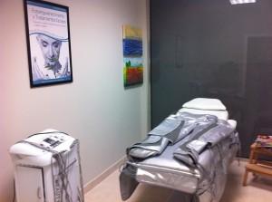 Sala de presoterapia