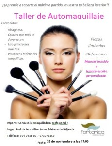 taller de maquillaje 28 de noviembre de 2014