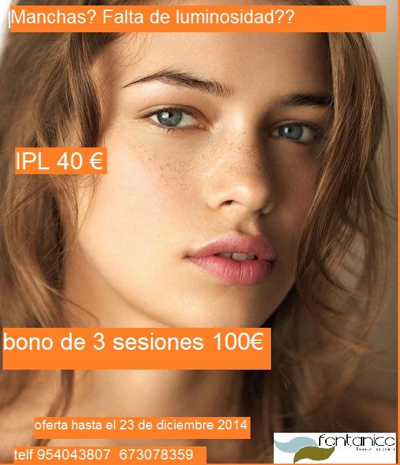 oferta ipl facial manchas